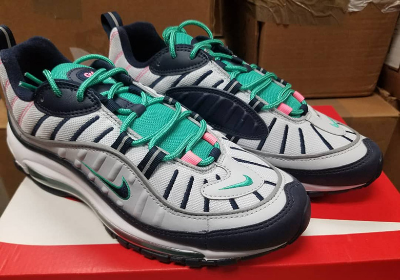 d59ad67a7ba5 Nike Air Max 98 South Beach Release Info