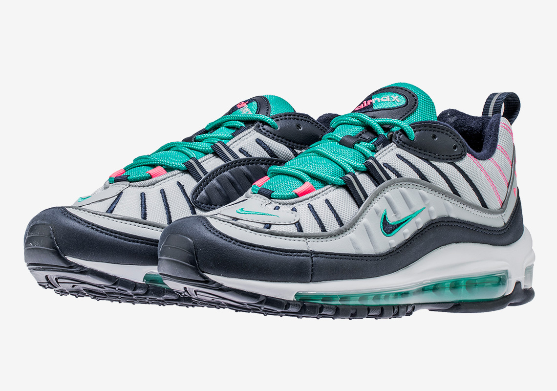 nike air max 98 easter south beach release info. Black Bedroom Furniture Sets. Home Design Ideas