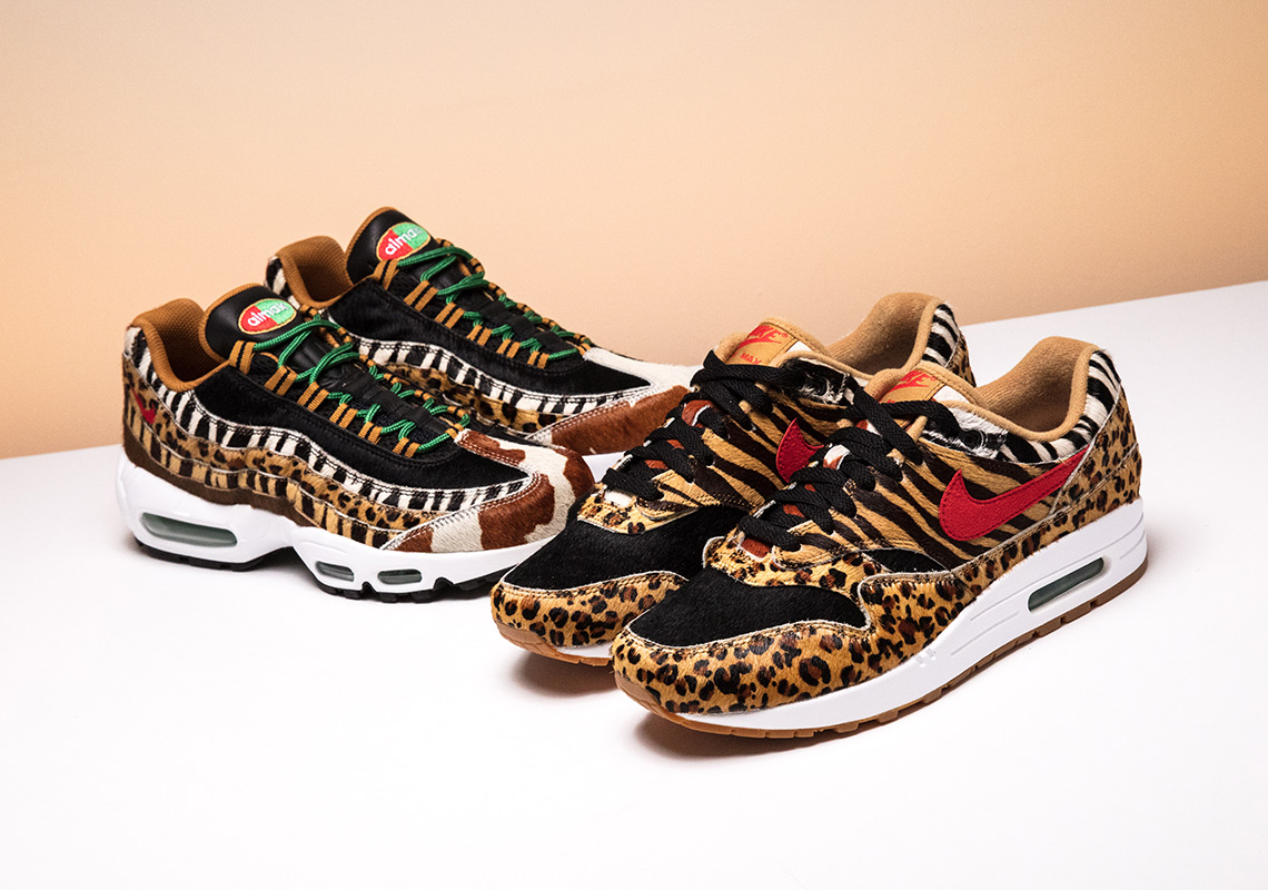 "online retailer a0622 2b0a0 Where To Buy The Nike Air Max ""Animal Pack"" 2.0"