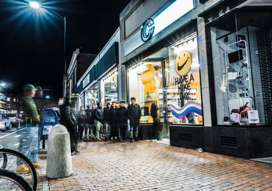 """Concepts Hosted An """"Air Max Night,"""" Where Running Shoe Fans And Actual Runners Met"""
