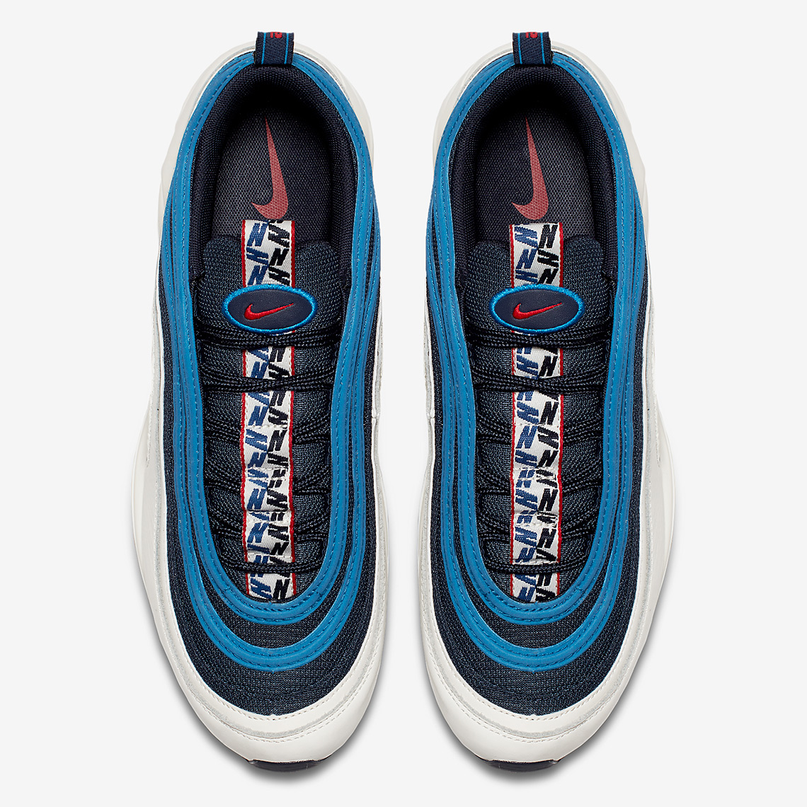 c5b759cf483 Nike Air Max 95 + Air Max 97 Pull Tab Pack Blue Official Images ...