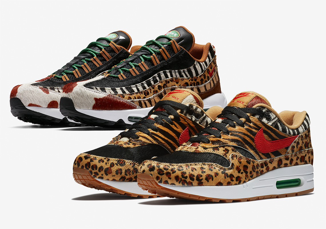 Cop The Exotic atmos x Nike Air Max 1 Animal Pack 2.0 This