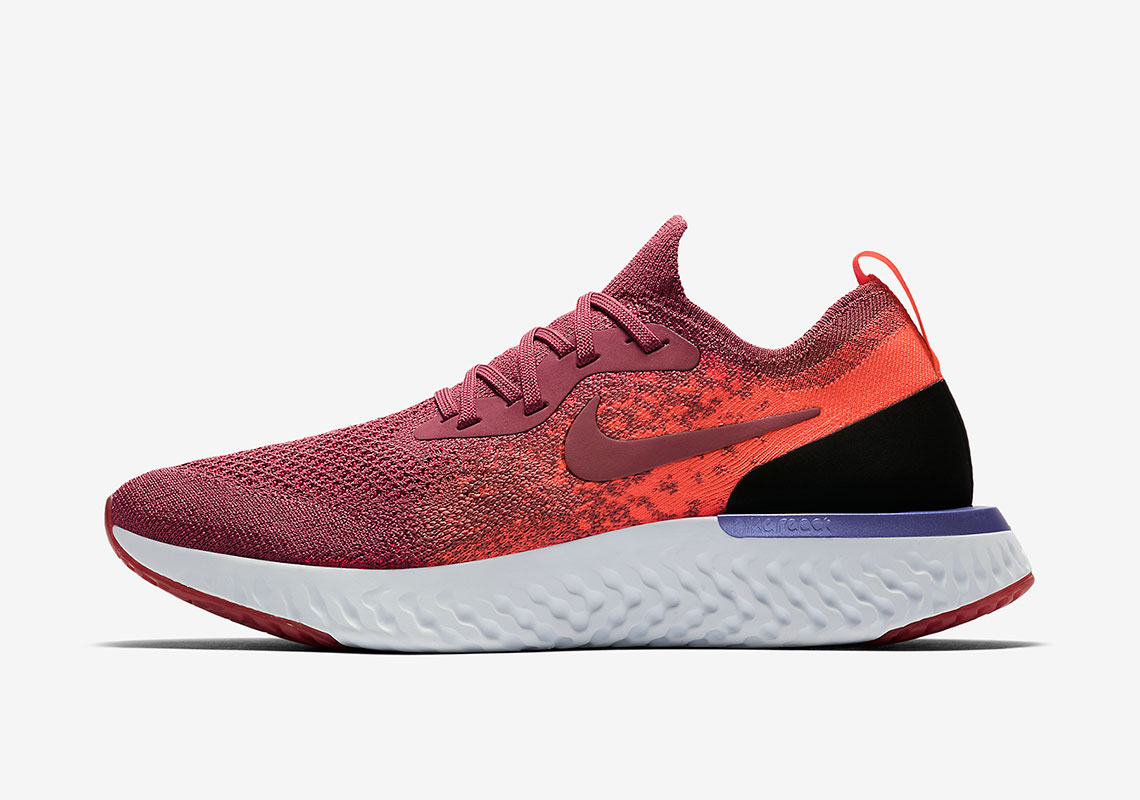 33ec462c75c6 Nike Epic React Flyknit AVAILABLE AT Nike  150. Color  Black White Hyper  Crimson Black Style Code AQ0067-006  small