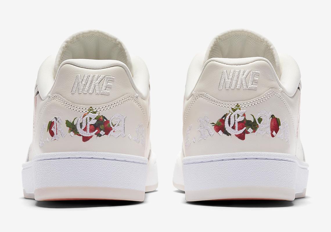 Nike Grandstand II Strawberries And Cream Wimbledon AO2642-100 ... 357ff6bf4