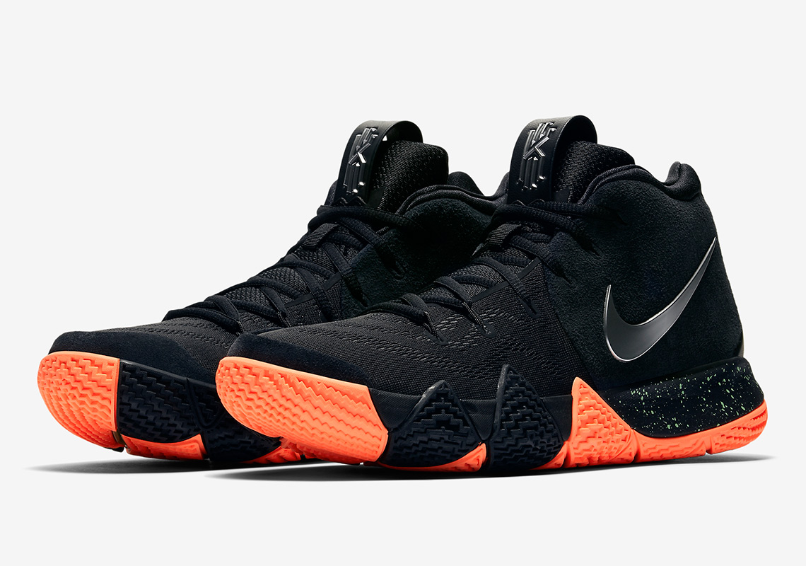 Kyrie Shoes In Black And Orange