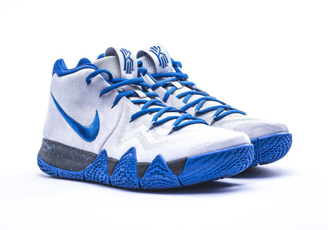 Nike Kyrie 4 Duke Blue Devils Basketball PE