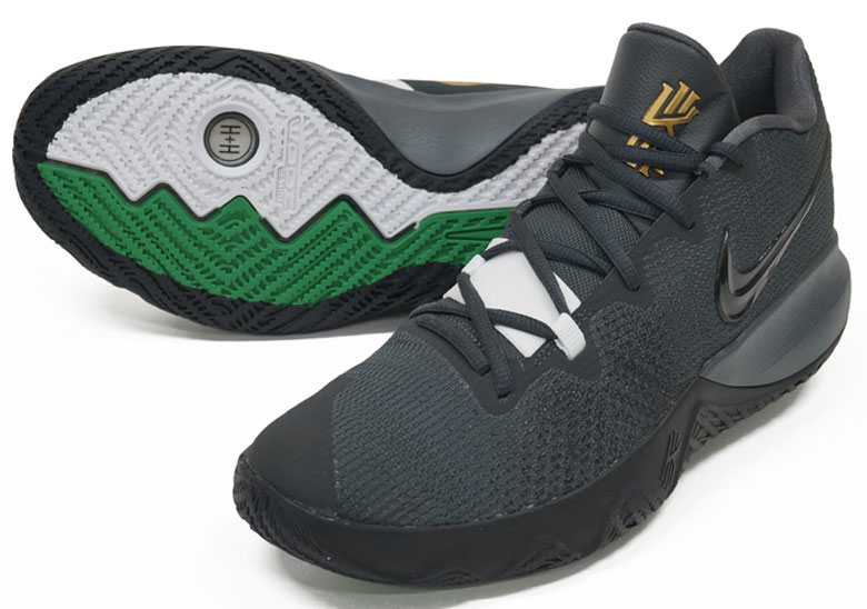 6a53f3a98960 Nike Kyrie Flytrap  80. Color Anthracite Black  u2013 Metallic Gold ...