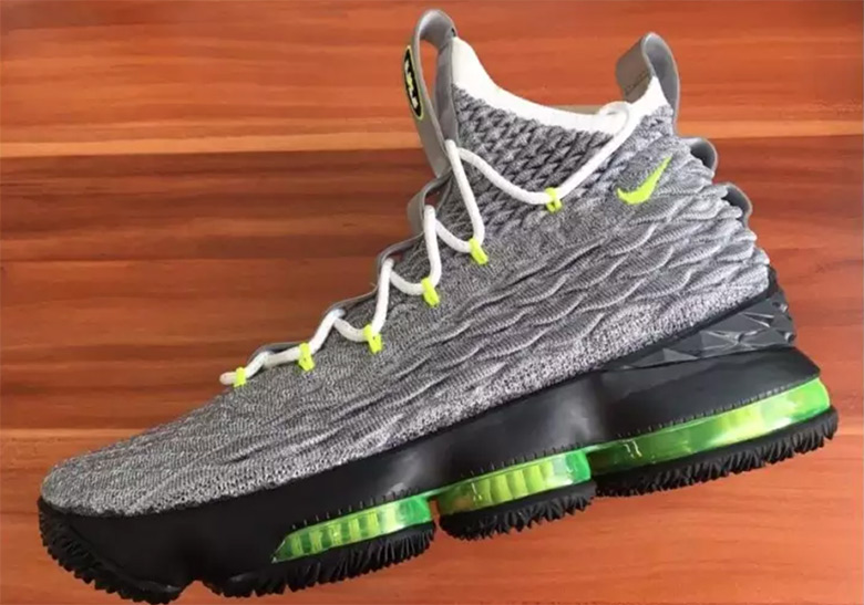 quality design f3084 58450 Nike LeBron 15 LeBronWatch Air Max 95 Neon   SneakerNews.com