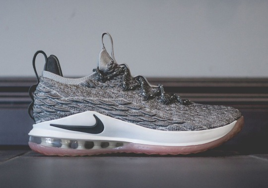 "A Closer Look At The Nike LeBron 15 Low ""Dark Stucco"""