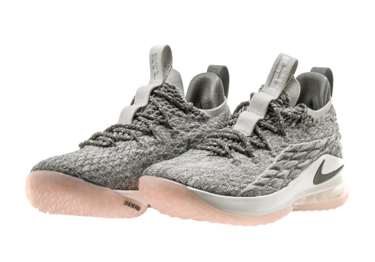 Nike LeBron 15 Low Releases On March 31st