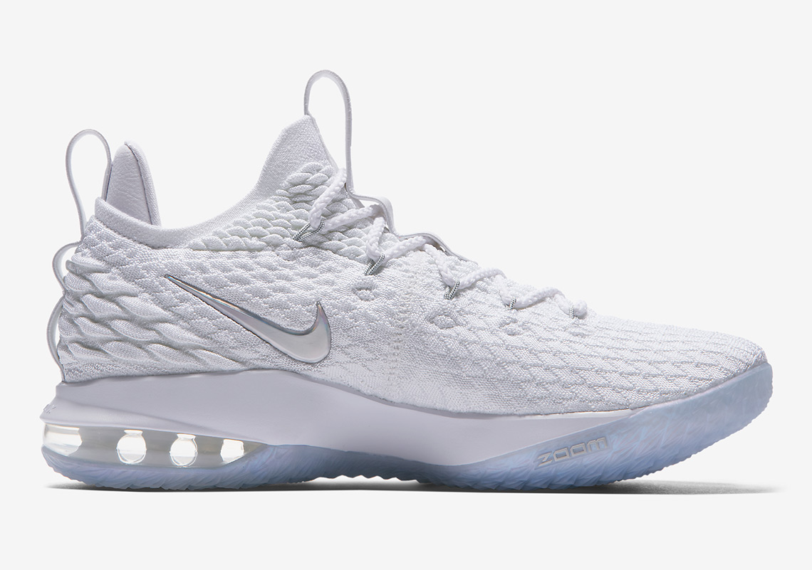 Nike LeBron 15 Low AO1755-100 Official Images + Release Info ... b9509b390f7d