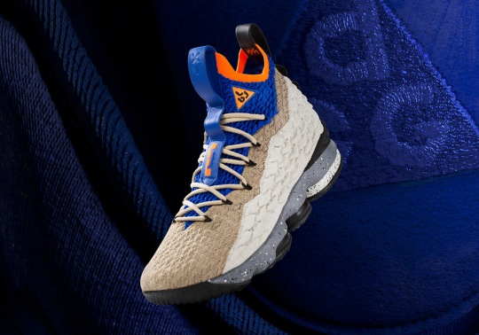 "Nike LeBron 15 ""Mowabb"" Marks Third #LeBronWatch Release"