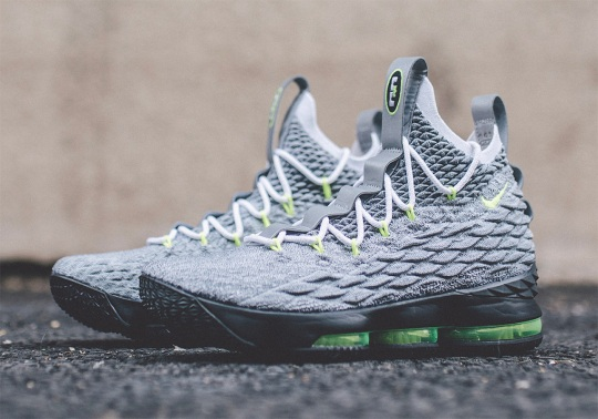 """Detailed Look At The Nike LeBron 15 """"Neon 95"""""""