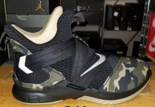 The Nike LeBron Soldier 12 Has Been Revealed