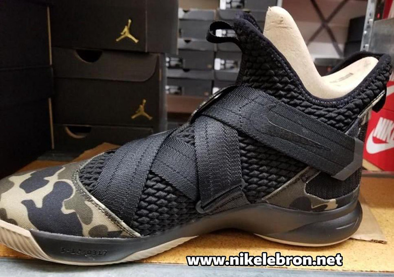 31534e10dc9a5 Nike LeBron Soldier 12. Release Date: April 19, 2018 $130. Color:  Black/Black-Hazel Rush Style Code: AO4054-001. Advertisement. Photos:  nikelebron