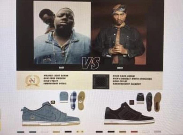 Nike SB Biggie Tupac East West Pack
