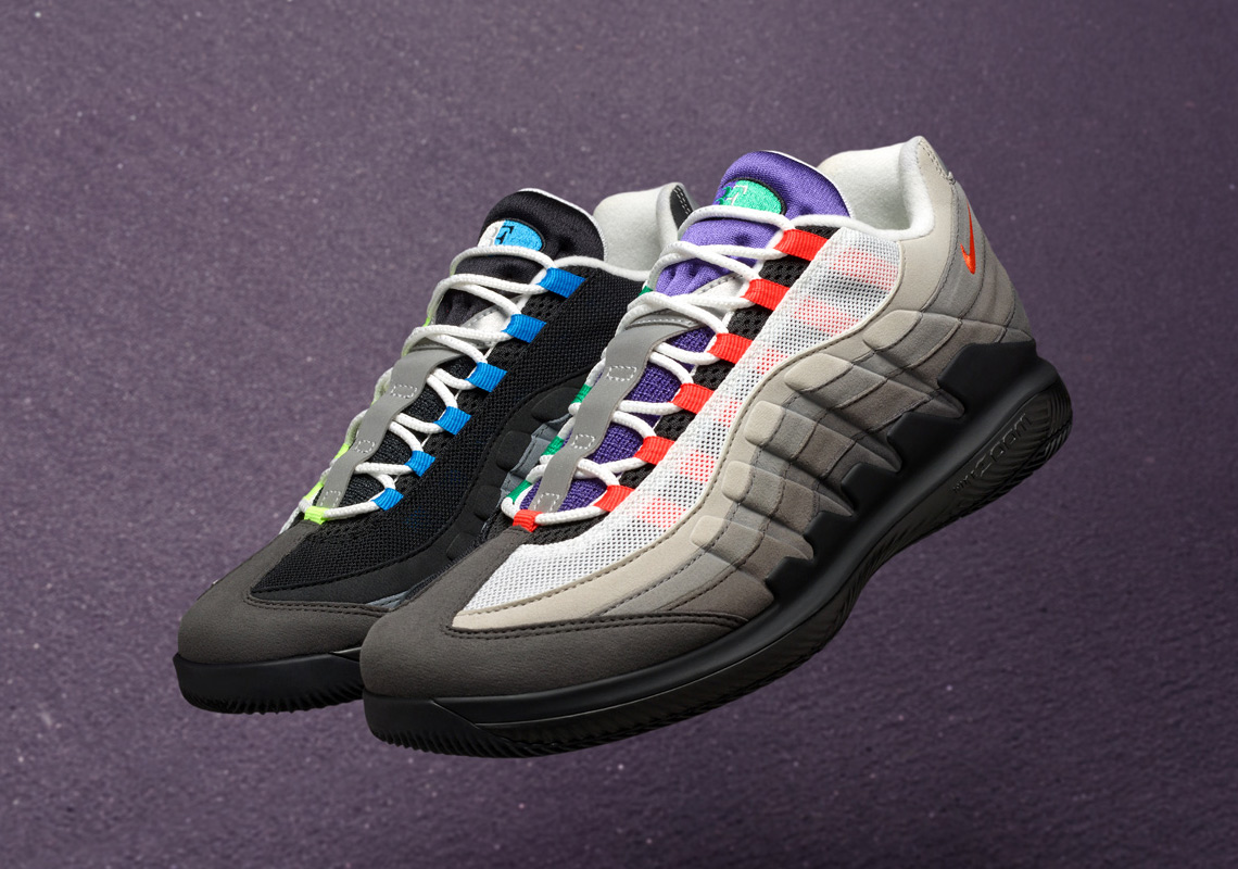 NikeCourt Vapor RF x Air Max 95
