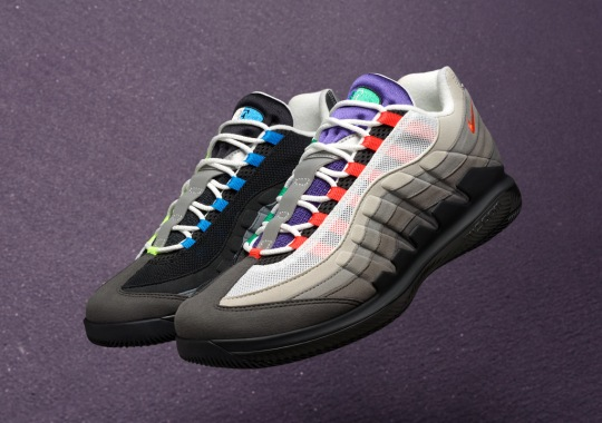 Nike Transforms Roger Federer's Vapor RF Into Air Max 95s
