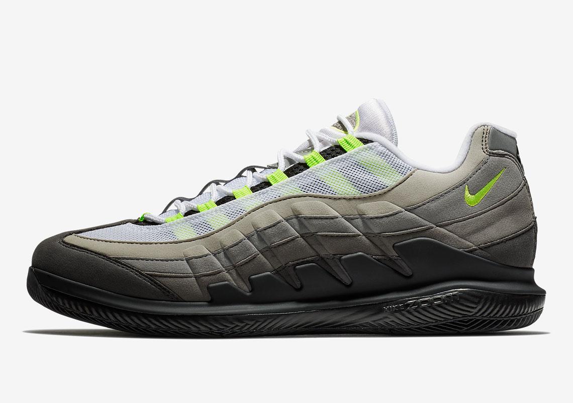 1f5039efded NikeCourt Vapor RF x Air Max 95. Release Date  March 9