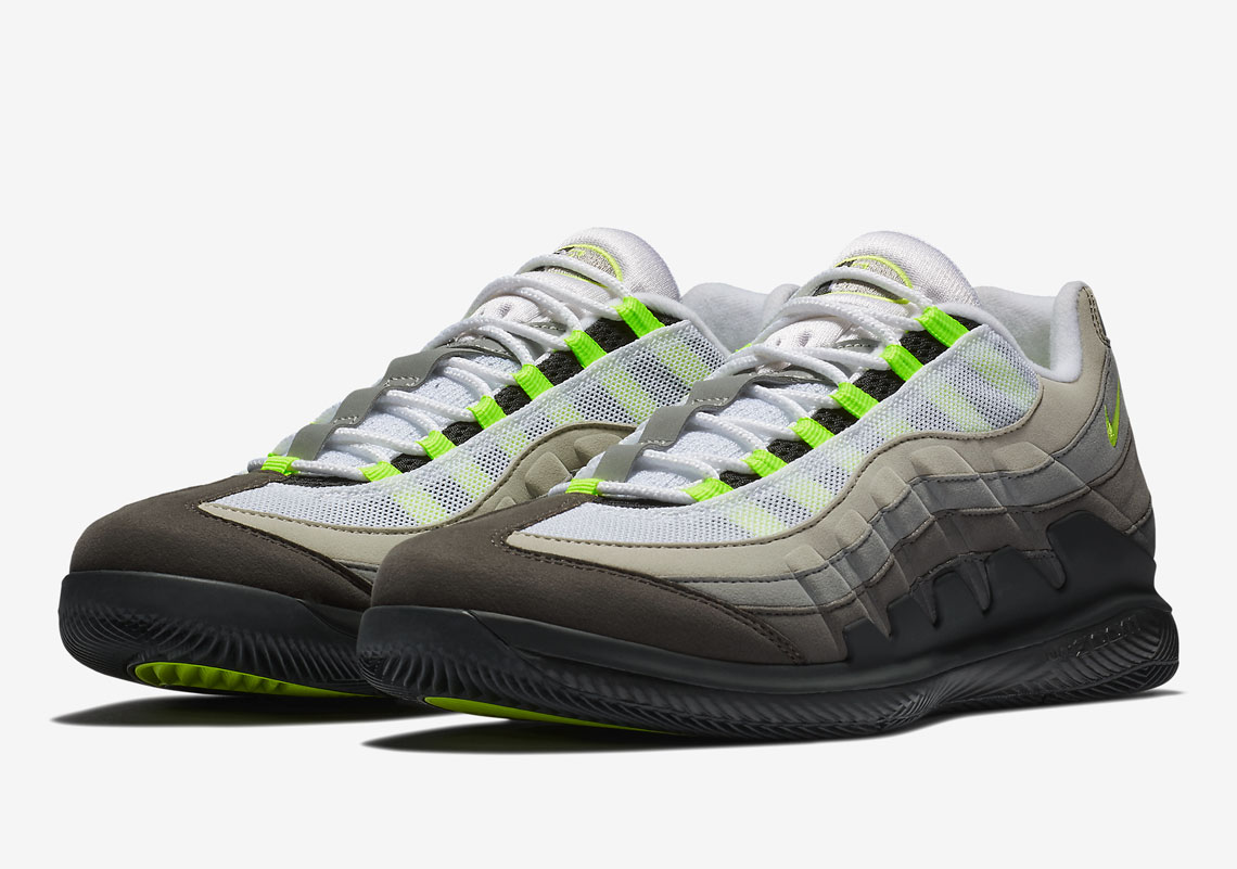 d845b64618 Advertisement. Advertisement. NikeCourt Vapor RF x Air Max 95. Release  Date: March ...