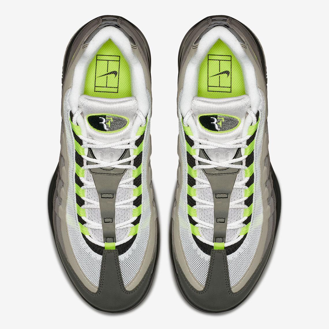 e21c98ae56 NikeCourt Vapor RF x Air Max 95. Release Date: March 9, 2018