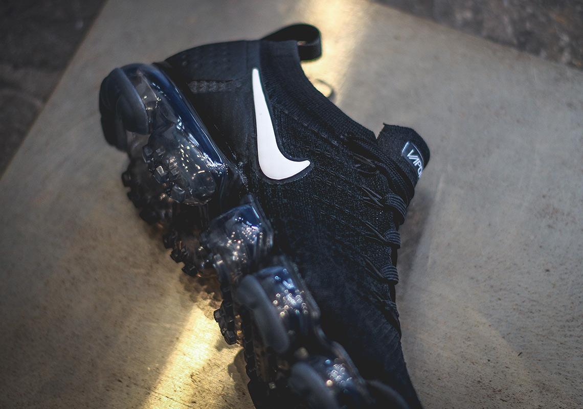 promo code e905d d4ba0 Nike Vapormax Flyknit 2.0 Black/White 942842-001 Release ...