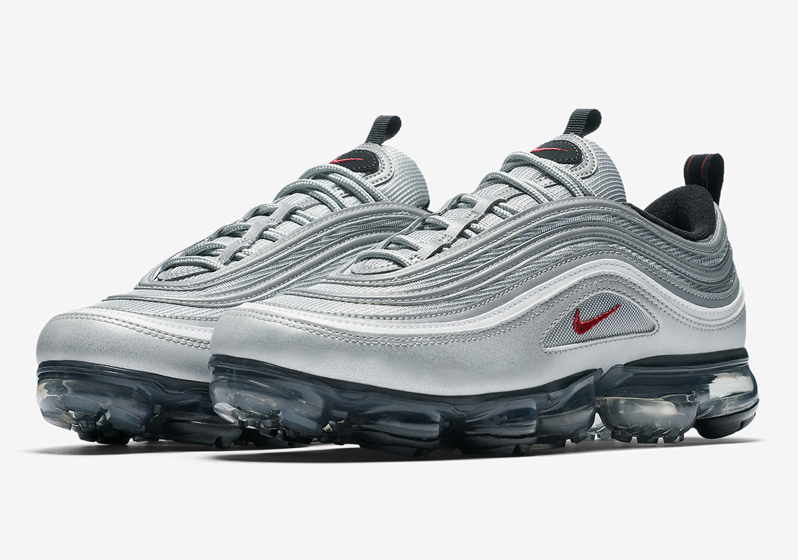 "Official Images Of The Nike Vapormax 97 ""Silver Bullet"""