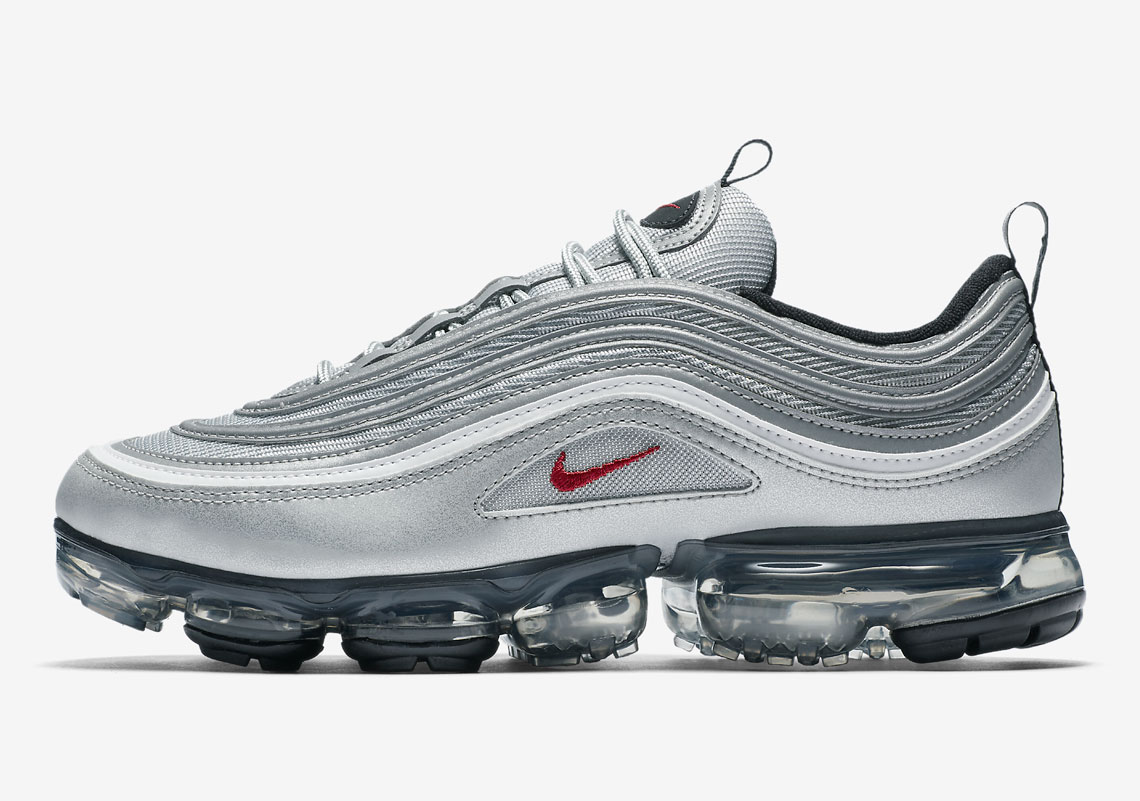 """f1366d661fa4d Official Images Of The Nike Vapormax 97 """"Silver Bullet"""""""