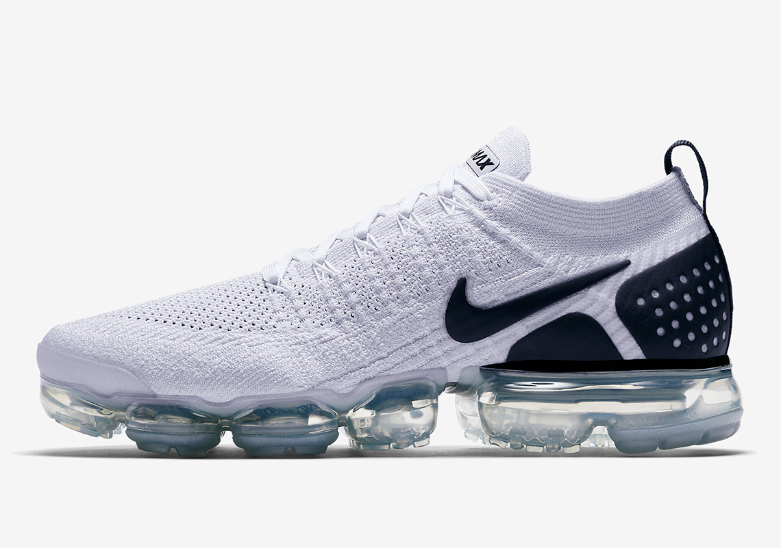 Nike VaporMax Flyknit 2.0 $190. Color: White/Black