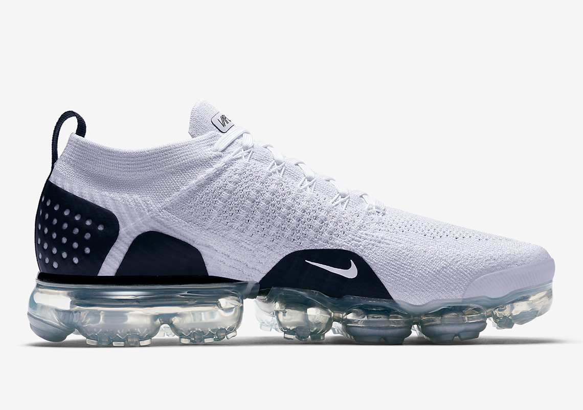 74890e0754c Nike VaporMax Flyknit 2.0  190. Color  White Black Style Code  942842-103.  Advertisement