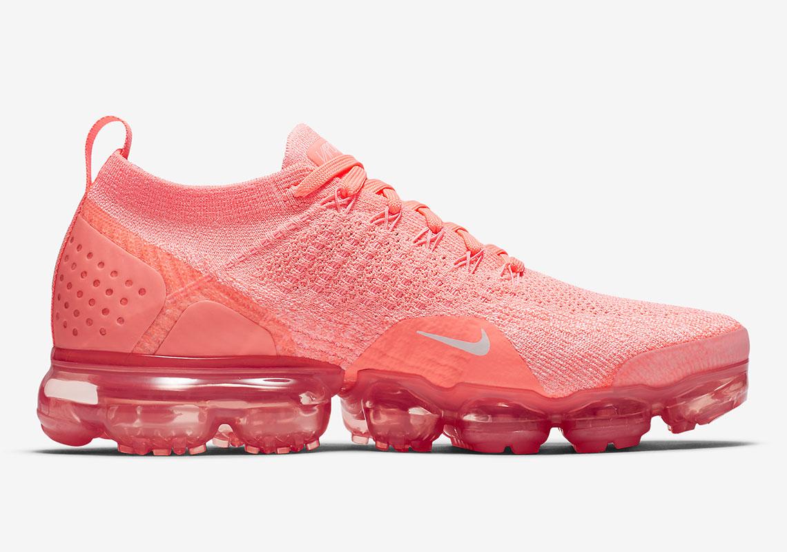 "ef7cedbf9ddc Nike VaporMax Flyknit 2.0 ""Crimson Pulse"" Release Date  April 5"