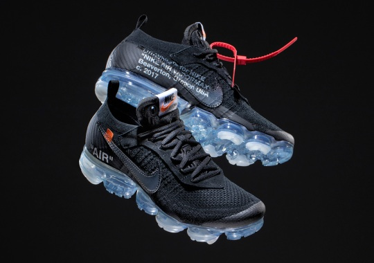 Detailed Look At The OFF WHITE x Nike Vapormax In Black