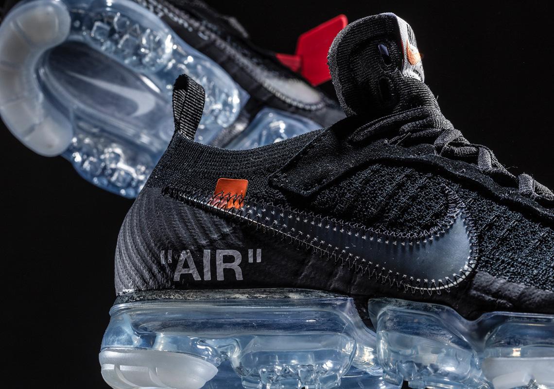 51f071711c59 OFF WHITE x Nike Vapormax Black Release Info