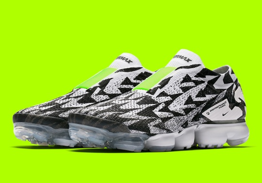 The ACRONYM x Nike Vapormax Moc 2 Is Releasing This Saturday