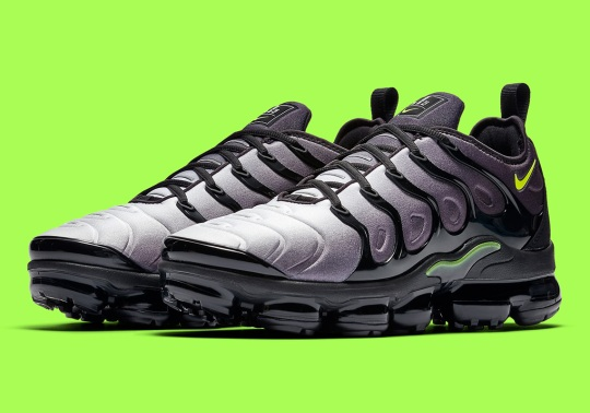 "The Nike Vapormax Plus Borrows The ""Neon 95"" Colorway"