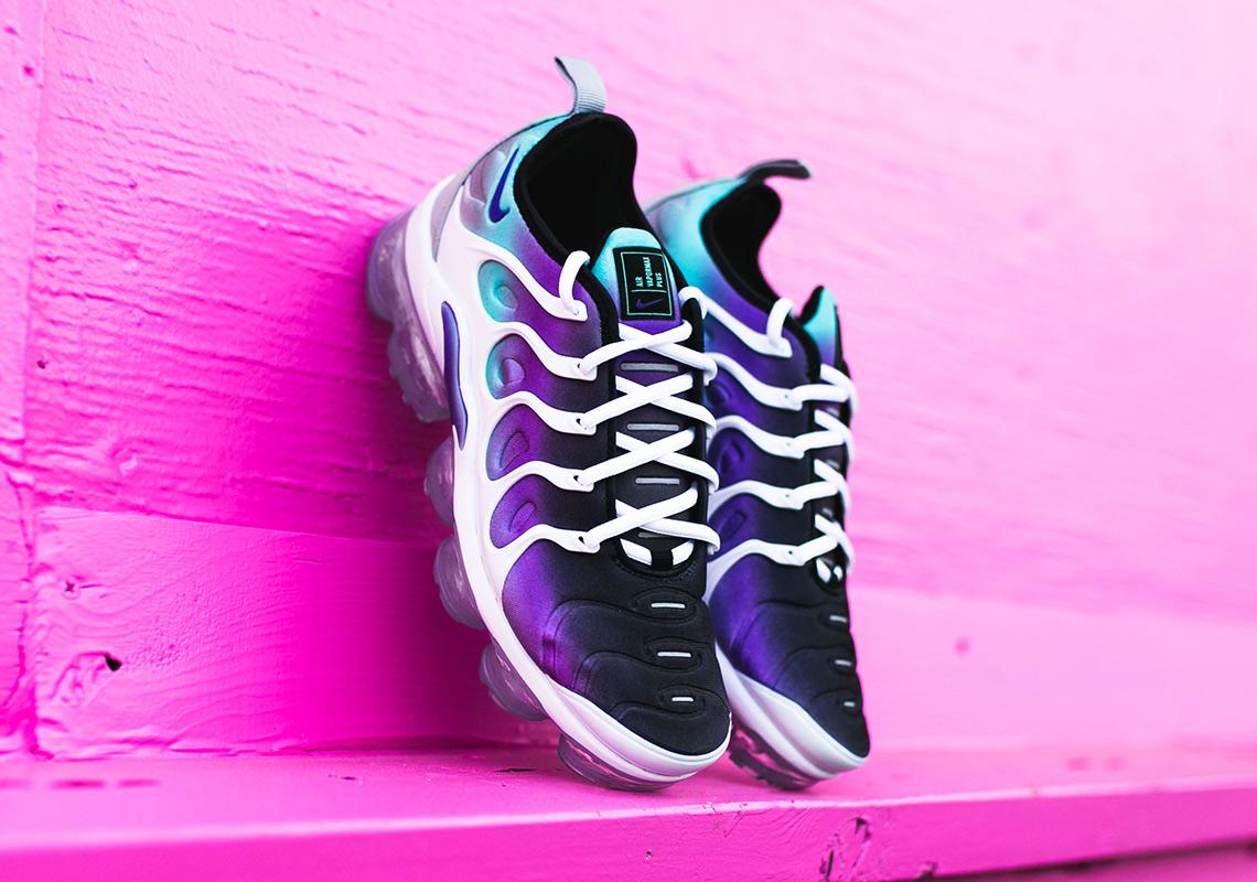 Nike Vapormax Pluss Hvit Lilla LOIyLd