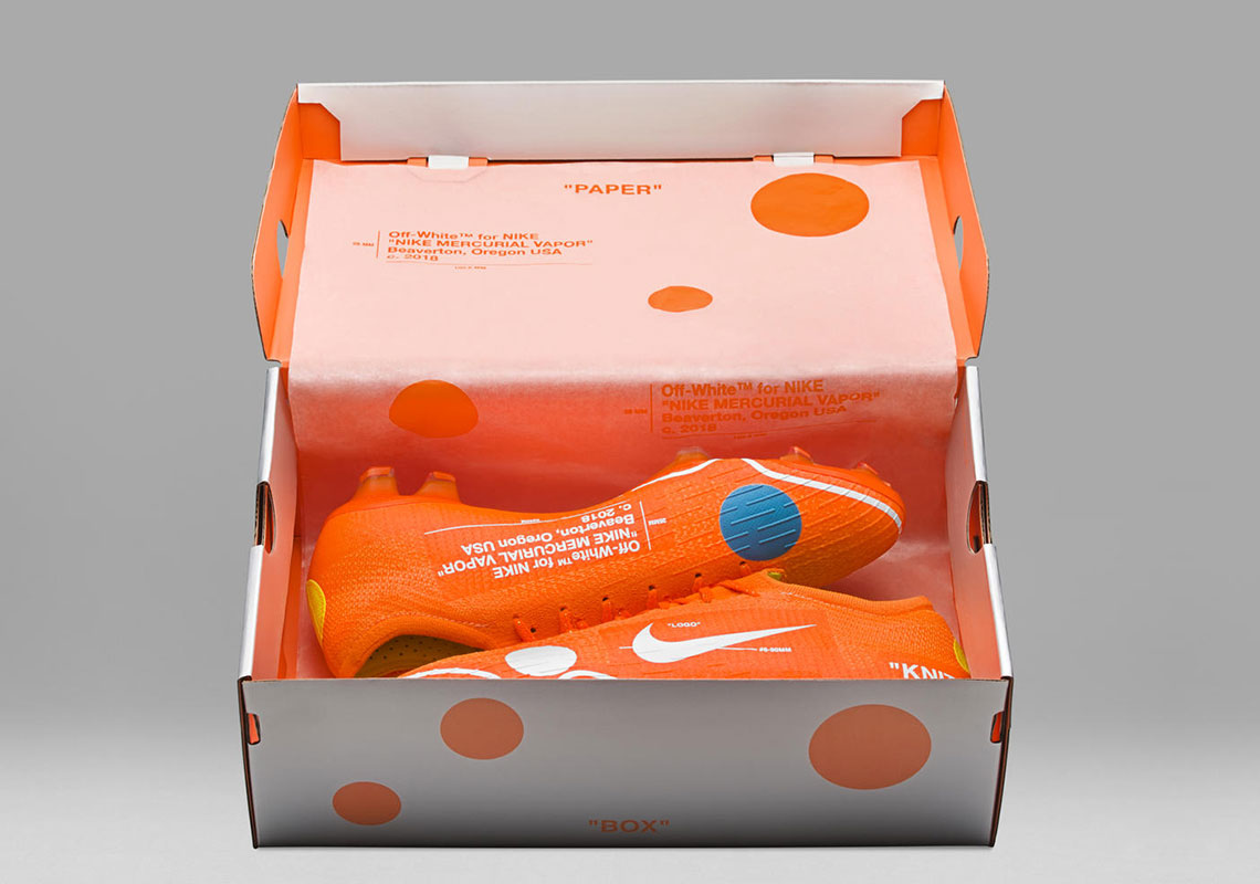 8a3f3d83c570a Nike x OFF WHITE Mercurial Vapor 360 Drops This Weekend ...
