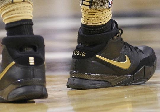 """DeMar Derozen Wears Nike Zoom Kobe 1 Protro """"Mamba Day"""""""