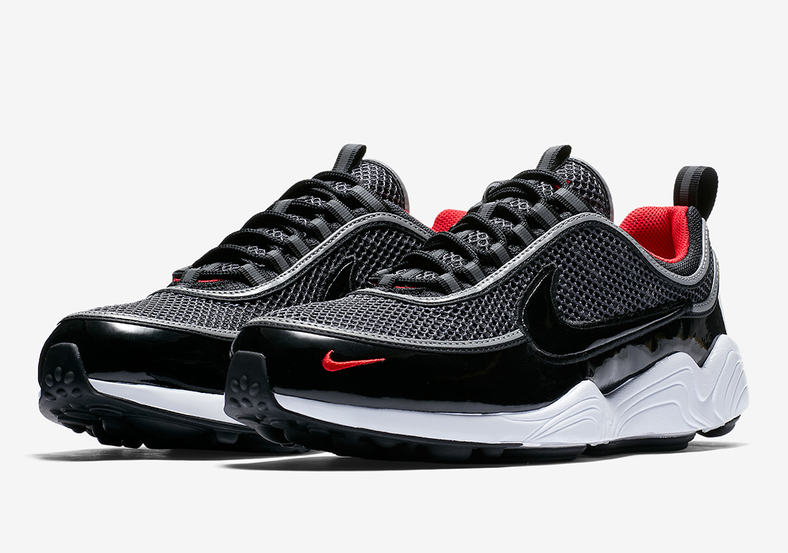 Nike Zoom Spiridon AVAILABLE AT Footshop  150. Color   Black Black-University Red-White Style Code  926955-006 3ed857986