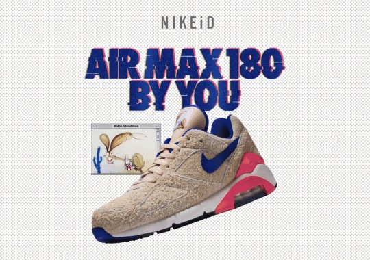 fbfa681f3 NIKEiD Brings Back The Air Max 180