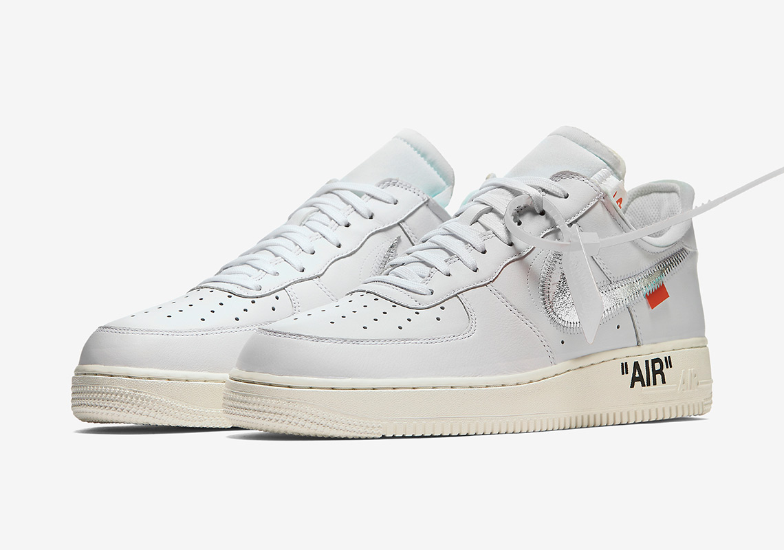 8842b87bace99 OFF WHITE Nike Air Force 1 Complex Con AO4297-100 | SneakerNews.com