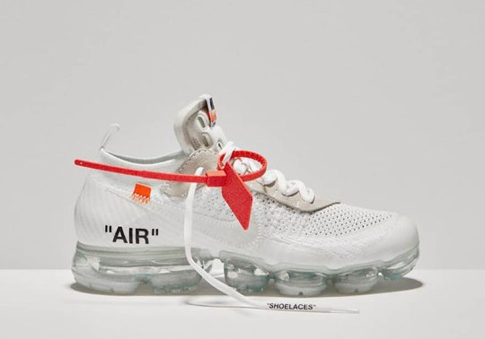 OFF-WHITE x Nike Vapormax Flyknit in White Revealed