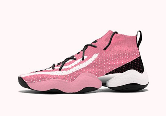 Pharrell's adidas Crazy BYW Pharrell Is Returning This Summer In Two Pink Styles