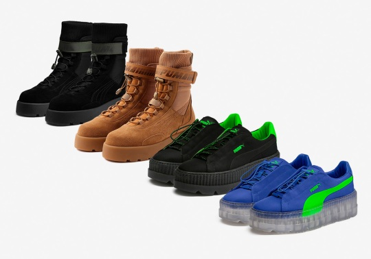 Where To Buy The Fenty PUMA by Rihanna Cleated Creeper Surf