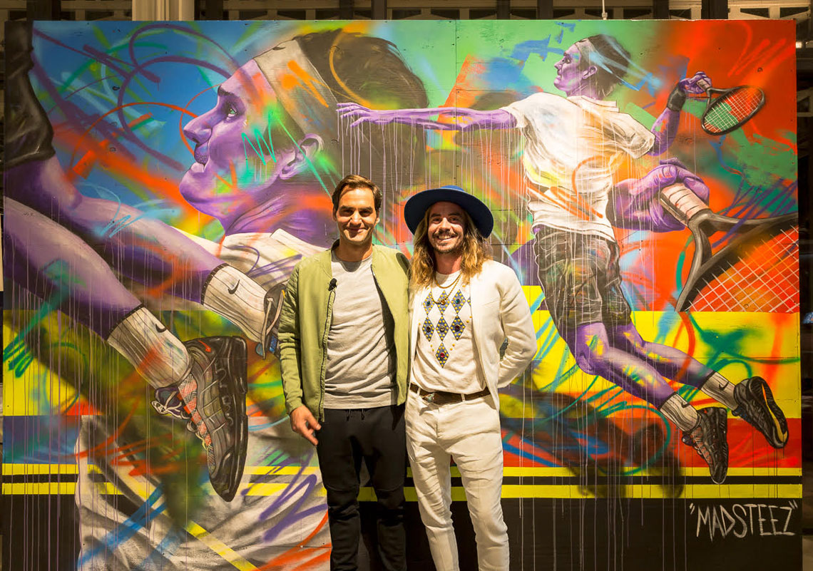 Roger Federer x Nike Miami Vapor RF x