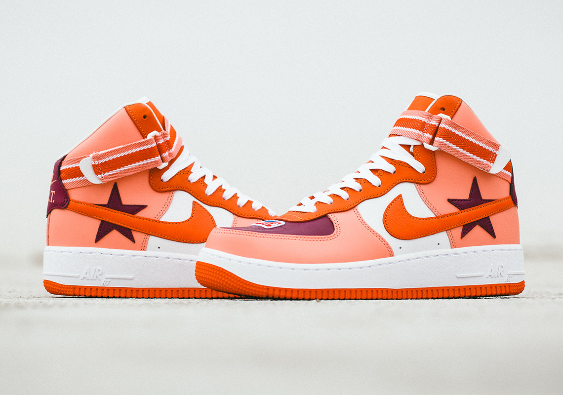 magasin d'usine 82ba0 f6cde The Riccardo Tisci x Nike Air Force 1 High Is Releasing ...