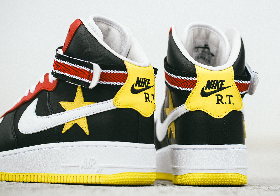 The Riccardo Tisci x Nike Air Force 1 High Is Releasing Globally