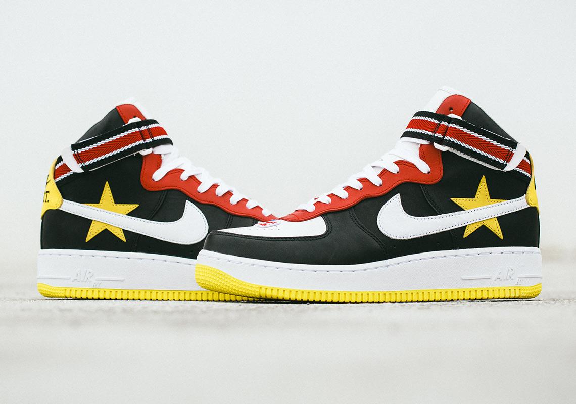 The Riccardo Tisci x Nike Air Force 1 High Is Releasing