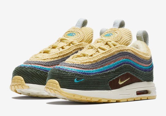 Official Images of the Sean Wotherspoon x Nike Air Max 97/1 In Toddler Sizes