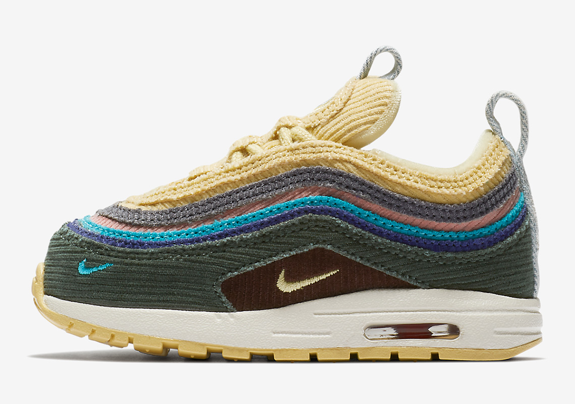 Sean Wotherspoon Nike Air Max 97 1 Toddler Sizes Release Info ... 78c663ec9